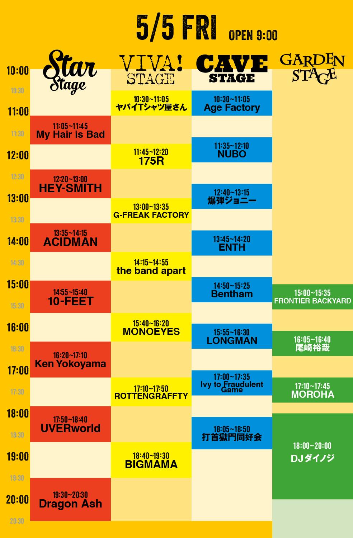 http://vivalarock.jp/2017/images/artist/timetable/timetable_0505.jpg